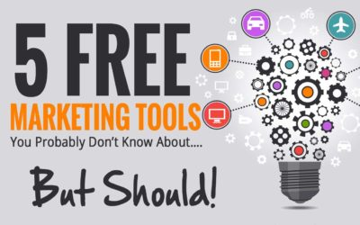5 Free Marketing Tools You Probably Don't Know About…But Should!